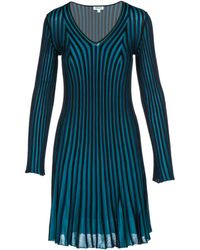KENZO - Knee Length Dress Long Sleeve - Lyst