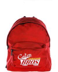 DSquared² - Nylon Rucksack Backpack Travel Caten Bros - Lyst