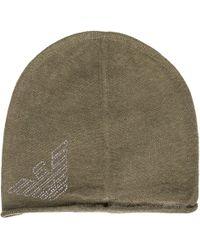 b47301192 Lyst - EA7 Beanie Hat in Gray
