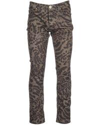 Versace Jeans - Jeans Denim Slim - Lyst