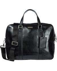 Michael Kors - Briefcase Attaché Case Laptop Pc Bag Leather Warren - Lyst