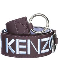 KENZO - Leather Shoulder Strap - Lyst
