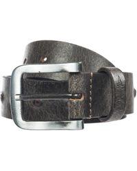 Armani Jeans - Cintura uomo vera pelle - Lyst