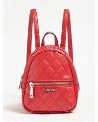 e48e9ef0ee Sac à dos Edged Calvin Klein en coloris Rouge - Lyst