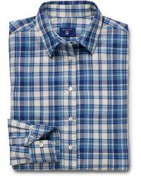 GANT - Luxury Flannel Shirt - Lyst