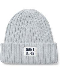 GANT - Teens Rib Beanie - Lyst