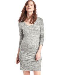 Gap - Maternity Long Sleeve T-shirt Dress - Lyst