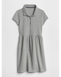 Gap - Uniform Short Sleeve Polo Dress - Lyst