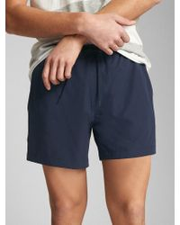 "Gap - 5"" Swim Trunks With Flex - Lyst"