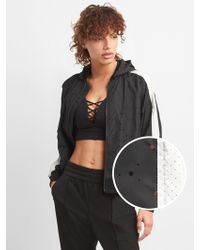 5d87f7399a6d Nike Tech Fleece Perforated Cotton-blend Jersey Jacket in Green - Lyst
