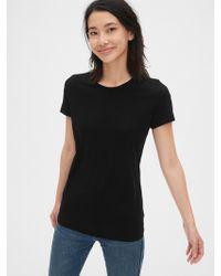 Gap Vintage Wash Crewneck T-shirt - Black