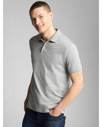 861063cc9 Lyst - Gap Fit Seamless Crewneck T-shirt in Blue for Men