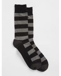 Gap - Rugby Stripe Crew Socks - Lyst