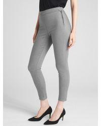 Gap - High Rise True Skinny Ankle Jeans In Sculpt - Lyst