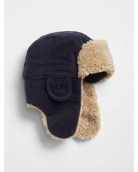 GAP Factory - Pro Fleece Trapper Hat - Lyst f5e8e95455d5