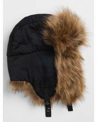 GAP Factory - Faux Fur Trapper Hat - Lyst 0ed9bad41c72