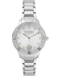 Versus - Canton Road Bracelet 36mm Watch Silver - Lyst
