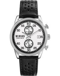 Versus - Versus Shoreditch Watch Silver/black - Lyst