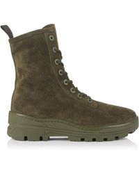 fff0a1182 Yeezy Military Boots- Season 4 in Natural for Men - Lyst