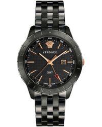 Versace - Shadov Watch Black - Lyst