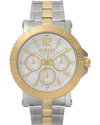 Versus - Steenberg Watch Silver/gold - Lyst