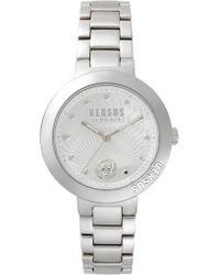 Versus - Lantau Island 36mm Dial Bracelet Watch Steel - Lyst