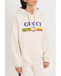 Gucci - Sweatshirt With Sequin Logo - Lyst