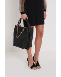 Givenchy - Grained Leather Bucket Bag - Lyst
