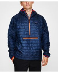 Patagonia - Nano Puff Bivy Pullover - Navy Blue - Lyst