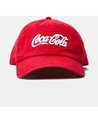 American Needle Coke Ball Cap Red