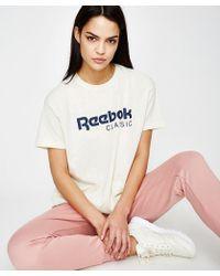 Reebok - Ef Gr Short Sleeve T-shirt White - Lyst