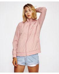 Reebok - Lf Vector Jacket Pink - Lyst