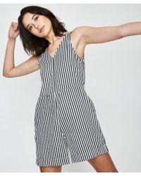 Neuw - Lou One Piece Stripe - Lyst