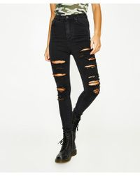 Neon Hart - Patti High Waist Super Skinny Jean Hectic Blow Out - Lyst