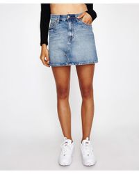 Levi's - Deconstructed Skirt Country House - Lyst