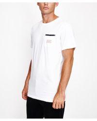 Rhythm - Cardiff Short Sleeve T-shirt White - Lyst