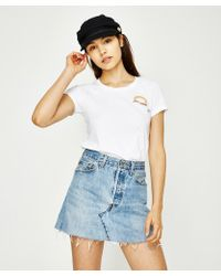 Afends - Valencia Short Sleeve T-shirt White - Lyst