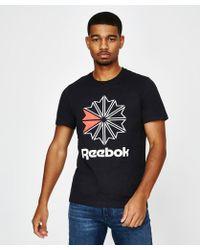 Reebok - F Gr T-shirt Black - Lyst