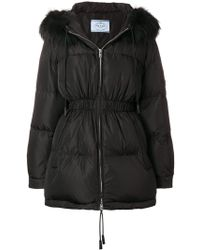 Prada - Quilted Puffer Jacket - Lyst