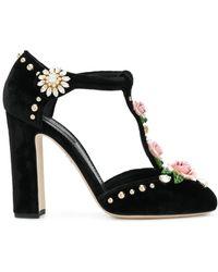 Dolce & Gabbana | Rose Mary Jane Sandals | Lyst