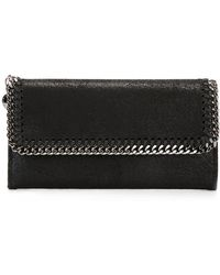 Stella McCartney - Falabella Flap Wallet - Lyst