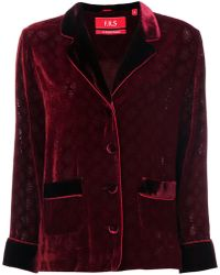 For Restless Sleepers - Embossed Velvet Style Blazer - Lyst