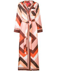For Restless Sleepers - Floor-length Belted Robe - Lyst