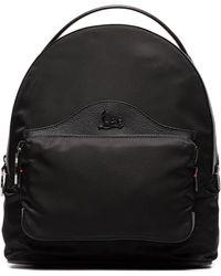 Christian Louboutin - Black Backloubi Studded Backpack - Lyst