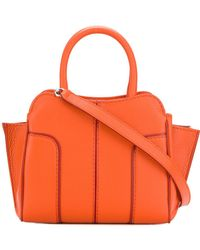 Tod's - Panelled Tote - Lyst