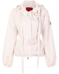 Moncler Gamme Rouge - Belted Hooded Jacket - Lyst