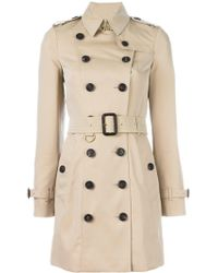 Burberry - Sandringham Cotton Trench - Lyst