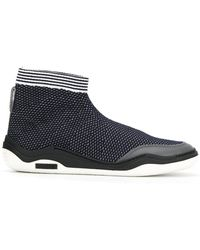Lanvin - Hi-top Diving Trainers - Lyst