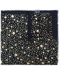 Stella McCartney - Stars Metallic Fil Coupé Scarf - Lyst