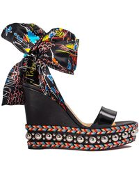 Christian Louboutin - Levantine 120 Wedge - Lyst
